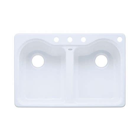 Kohler Hartland Sink Weight by Kohler Hartland Drop In Cast Iron 33 In 4