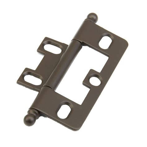 Non Mortise Cabinet Hinges Rubbed Bronze by Schaub And Company Shop 1100b 10b Cabinet Hinges