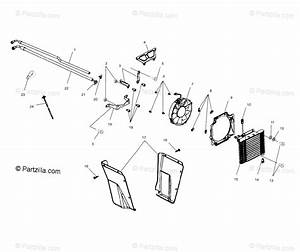 Polaris Atv 2001 Oem Parts Diagram For Oil Cooling A01aa32aa