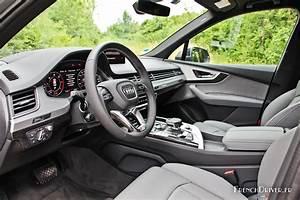 Audi Q7 Interieur : essai de la nouvelle audi q7 concentr de technologies ~ Nature-et-papiers.com Idées de Décoration