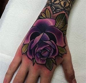 Download Violet Rose Tattoo | danielhuscroft.com