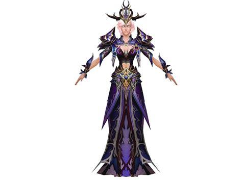 Human Woman Mage Character Concept 3d Model 3dsmax Files