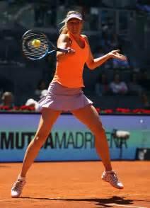 Maria Sharapova Tennis Match