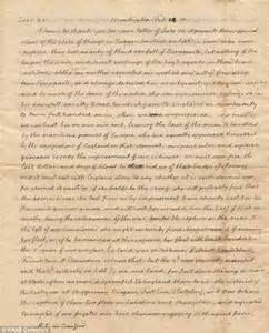 thomas jefferson letter discovered in family39s attic on With historical letters for sale