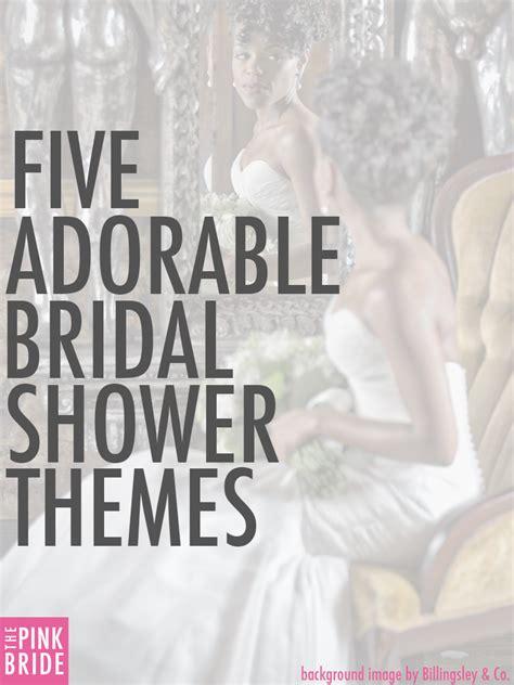 Kitchen Tea Party Invitation Ideas - five adorable bridal shower themes the pink bride
