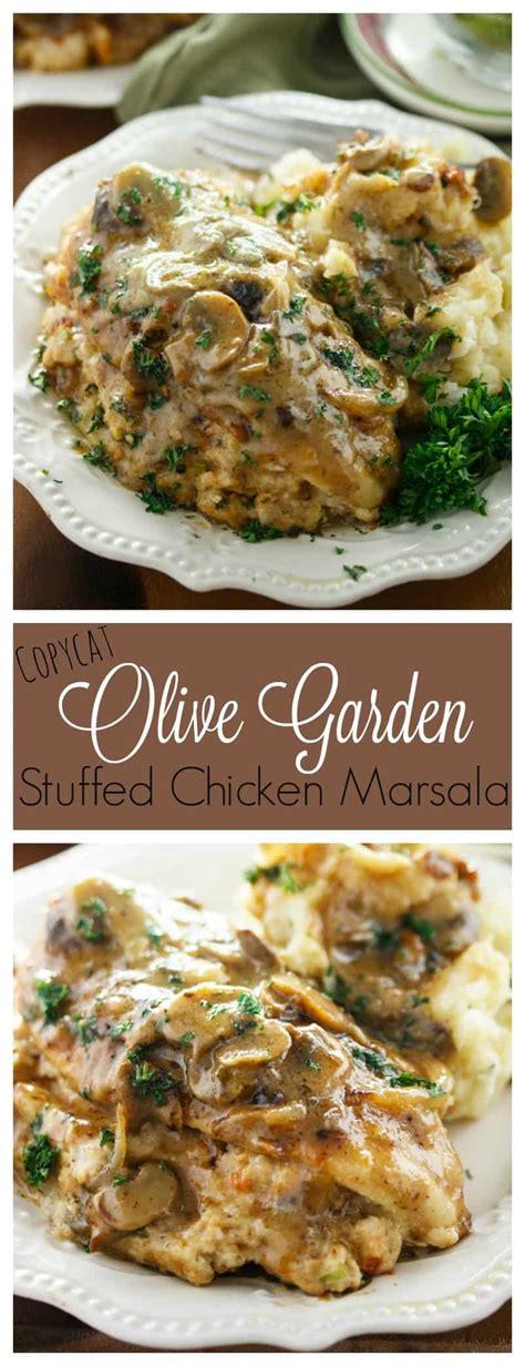 Chicken Marsala Olive Garden Recipe by Olive Garden Stuffed Chicken Marsala The Cozy Cook