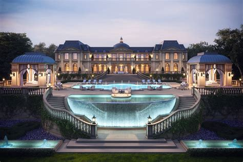 Mansions Designs by Development Cgrendering 3d Architecture