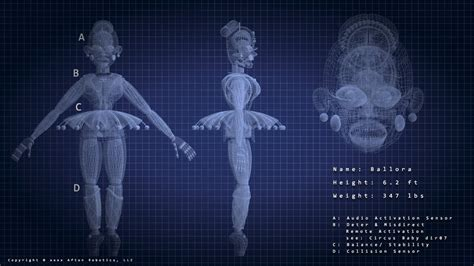 Ballora Blueprint by SparkyBOY-Gaming on DeviantArt