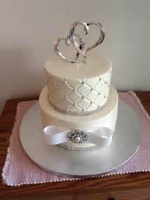 cubic zirconia engagement ring small wedding cakes onweddingideas