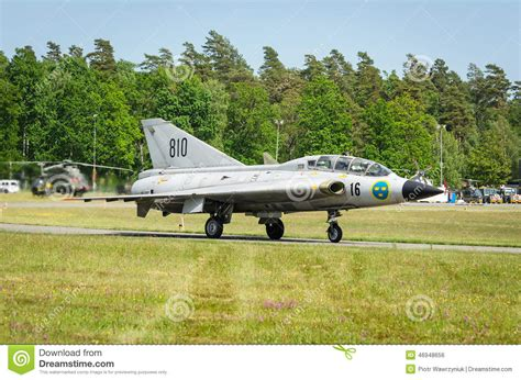saab 35 draken editorial photo cartoondealer com 46949117