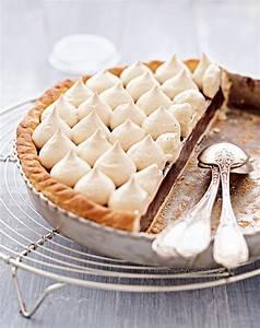 Assiette à Dessert Originale : recette tarte au chocolat meringue au caf marie claire ~ Teatrodelosmanantiales.com Idées de Décoration