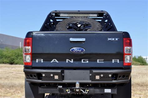 shop ford ranger  dimple  rear bumpers  add offroad
