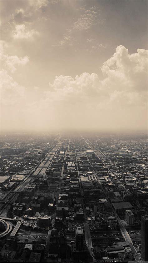 Gloomy City Skyline Iphone 6 Plus Hd Wallpaperjpg 1,080