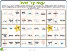 road trip bingo printable it forwardmom it forward