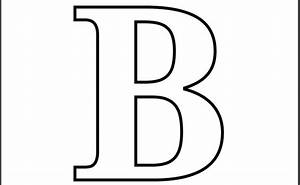 Printable letter b coloring page printable alphabet for Large b letter