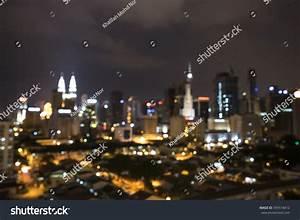 Kuala Lumpur Aerial Night View Stock Photo 599518412 ...