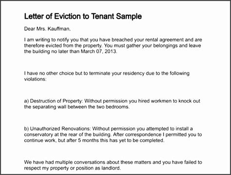 tenant eviction notice template sampletemplatess