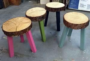 Möbel Stump : stump stools from building off the grid alaska range on ~ Pilothousefishingboats.com Haus und Dekorationen