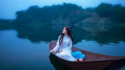 Teen Wallpapers Boat Asian Flowers Forest Lake