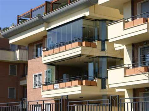 verande balcone chiusura balconi in plexiglass