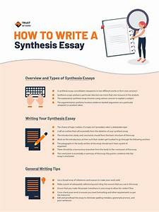 Learn How To Write A Synthesis Essay On Trust My Paper