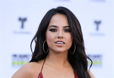 Becky G's Hot Red Dress Slayed At Latin American Music