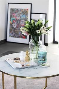 Dekoration Für Wohnzimmer : unsere neue wohnzimmer deko in gr n gold tantedine ~ Udekor.club Haus und Dekorationen