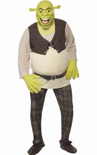Shrek Costume Costumes Party Diy Adult Hollywood