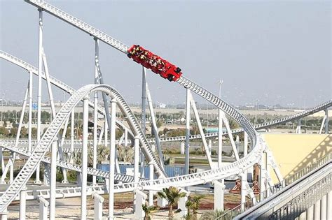 Formula rossa, the world's fastest roller coaster, is also located here. Formula Rossa, Ferrari World. Abu Dhabi, United Arab Emirates | Ferrari world abu dhabi, Ferrari ...