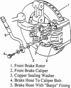 2000 Buick Lesabre Brake Line Diagram