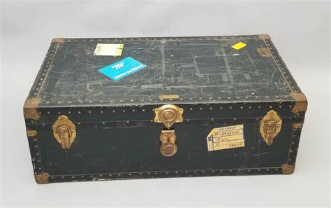 end table plain footlocker turned vintage travel trunk 28 images Steunk