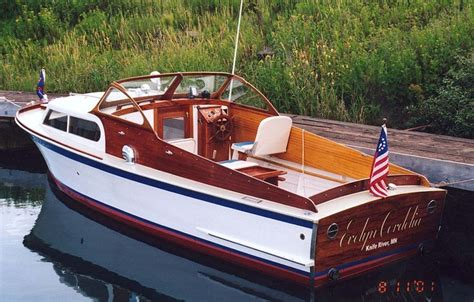 Runabout Boat Comparison by Wooden Boat Chris Craft Boats