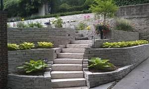 escalier exterieur jardin pour un espace vert optimise With escalier terrasse exterieur jardin