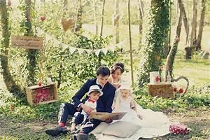 Mariage Theme Champetre : photo mariage champetre chic zenika ~ Melissatoandfro.com Idées de Décoration