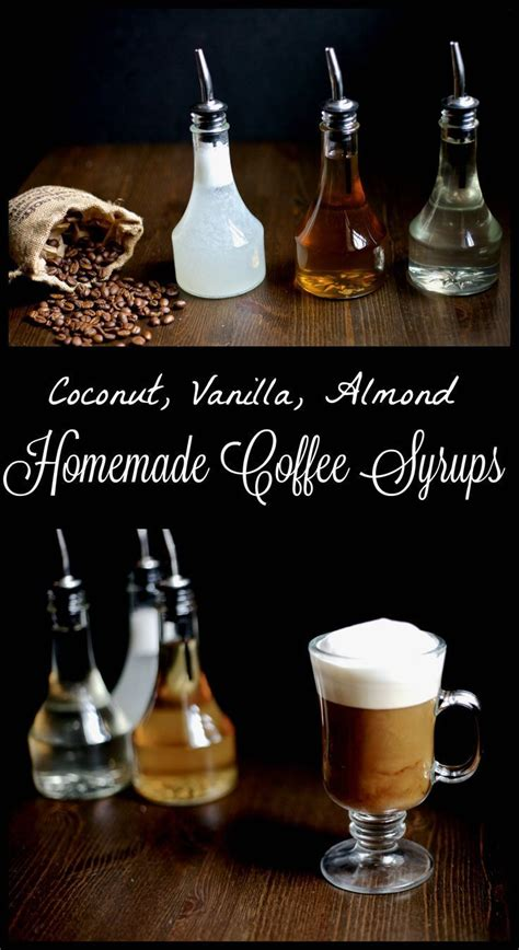 Coffee syrups are easier to make than you might think. Homemade flavored coffee syrups are a healthier and easy ...