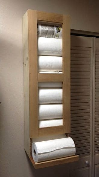 paper towel storage   pantry router forums