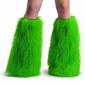 Fashion trends Fluffies Furry rave faux boots sleeves