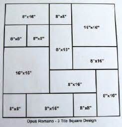 tile french layout formula patterns patterns kid