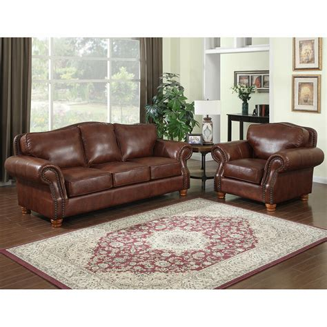 italian loveseat brandon distressed whiskey italian leather sofa and chair