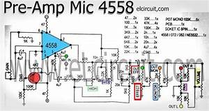 I U0026 39 M Yahica  Pre Amp Circuit Using 4558 Pdf
