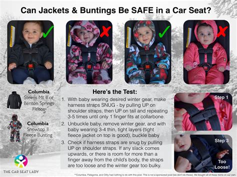 Keep Kids Warm And Safe In The Car Seat