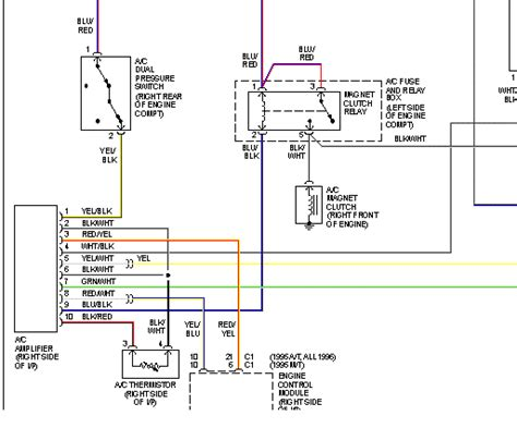 radio wire diagram for a 1994 geo metro circuits radio