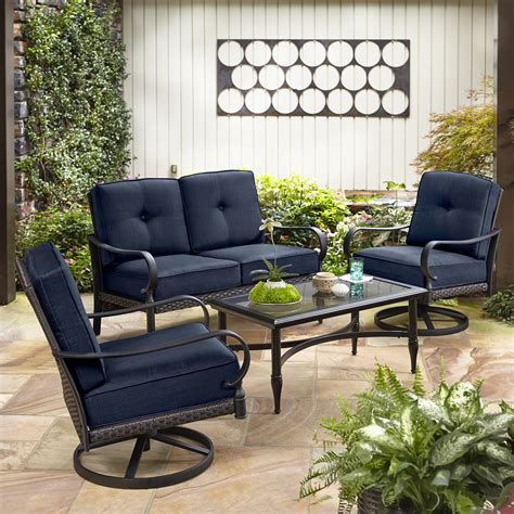 la z boy outdoor 4 pc seating set limited