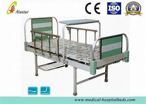 2 Crank Medical Hospital Beds Aluminum Alloy Frame
