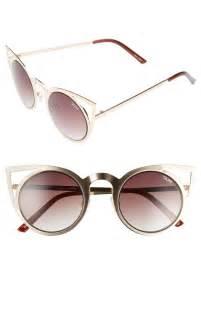 cat eye sunglasses quay australia invader 50mm cat eye sunglasses nordstrom