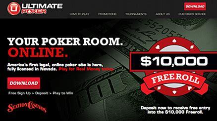 Ultimate Poker Wins Nevadalicensed Realmoney Race