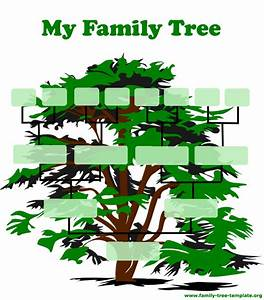 Make a family tree form family tree template for Draw a family tree template