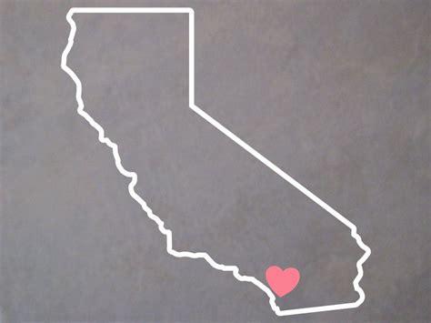 california ca oval decal san diego sticker
