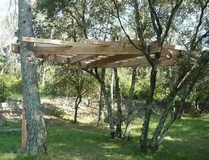 Cabane Dans Les Arbres Construction : construction cabane perchee ~ Mglfilm.com Idées de Décoration