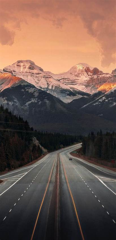Google Xl Backgrounds Road Wallpapers Mountains Nature